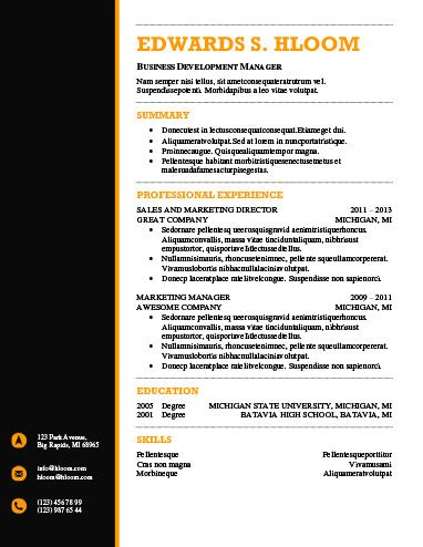 14914 modern business resume modern resume templates 64 exles free