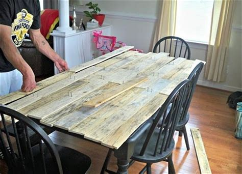 recycled wooden pallet dining table ideas recycled pallet ideas