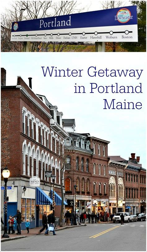 Portland Maine Winter Getaway Cars Trips And Portland Maine
