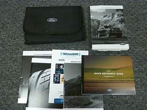 2016 Ford Expedition Suv Owner Manual User Guide Xlt