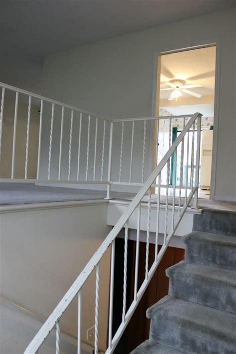 paint metal handrails