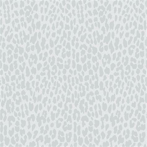 Glitter Animal Print Wallpaper - decor geo animal print glitter wallpaper grey