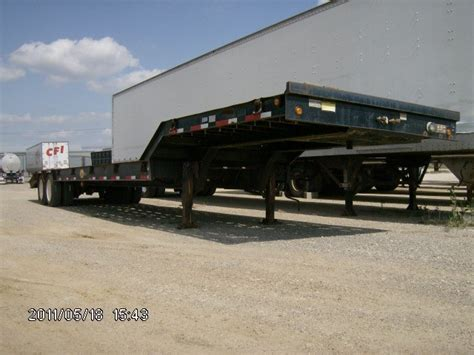 Deck Fort Worth Tx by Used 2000 Viking Drop Deck Trailer In Fort Worth Tx