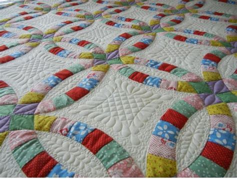 wedding ring quilt 124 best wedding ring quilts images on