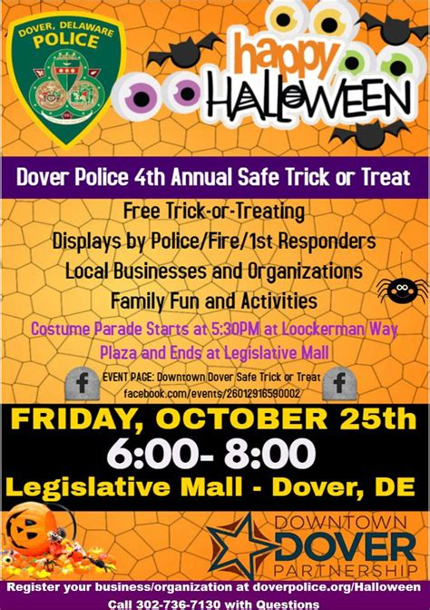 dover police  downtown dover partnerships  annual