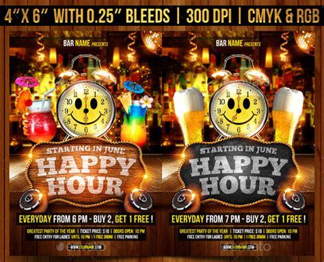 23+ Happy Hour Flyer Templates