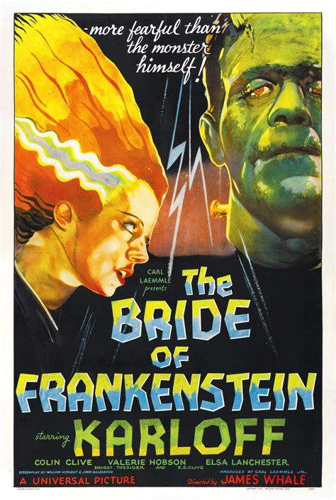 frankenstein bride last road poster universal monsters lanchester elsa karloff boris