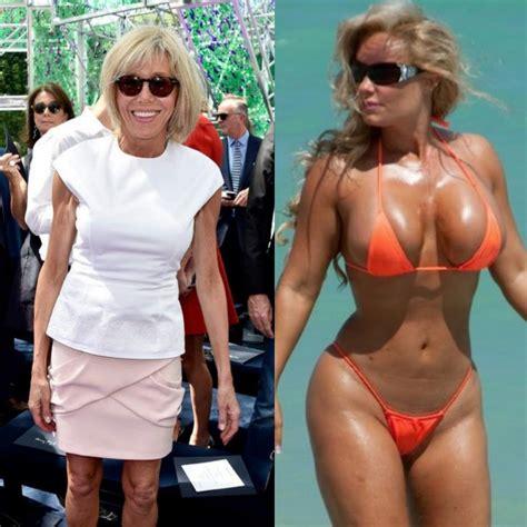 brigitte macron bikini gr 233 gory roose on twitter quot france croatie en finale