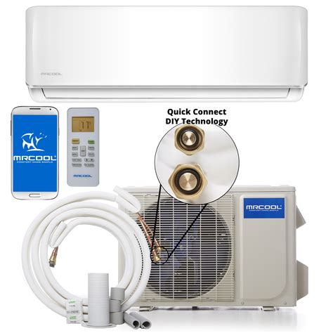 cool diy  btu  seer ductless mini split heat pump