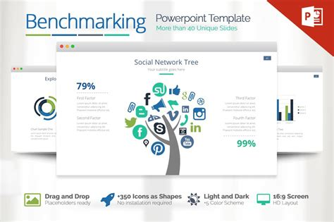 benchmarking powerpoint template powerpoint templates