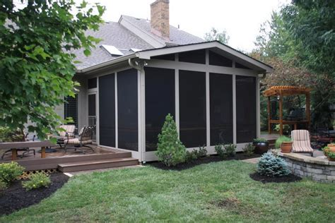 outdoor screened patio designs backyard patio ideas