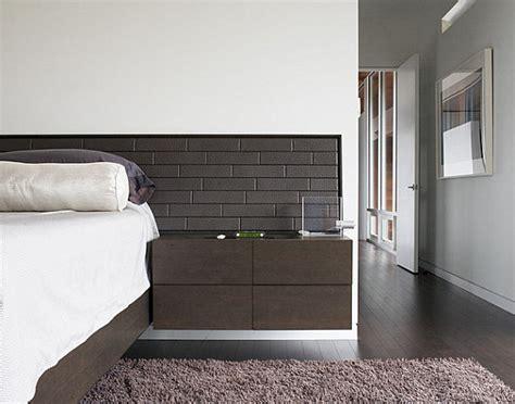 chic modern nightstands   contemporary bedroom