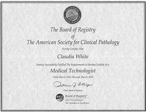 ascp mls resume claudia white With ascp phlebotomy certification