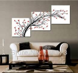 livingroom paintings 3 diagonal wall set wall set modern paintings flowers living room wall