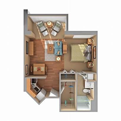 Studio Floor Apartment Plan Apartments Floorplan Client