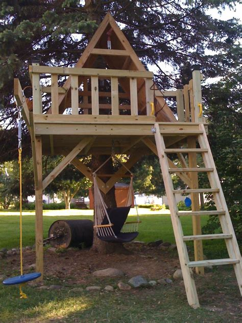 elements  include   kids treehouse    awesome