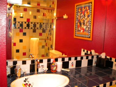 bathroom wondrous mickey mouse bathroom disney cartoon  bathroom interior design ideas