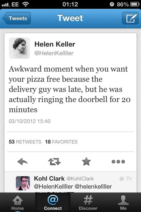 awfulhilarious helen keller twitter account funny