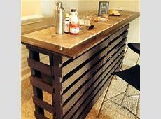 Beautiful DIY Pallet Indoor Bar And Wine Rack Pallets