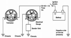 recalibrating the water temperature gauge csr175 With vdo amp gauge wiring diagram