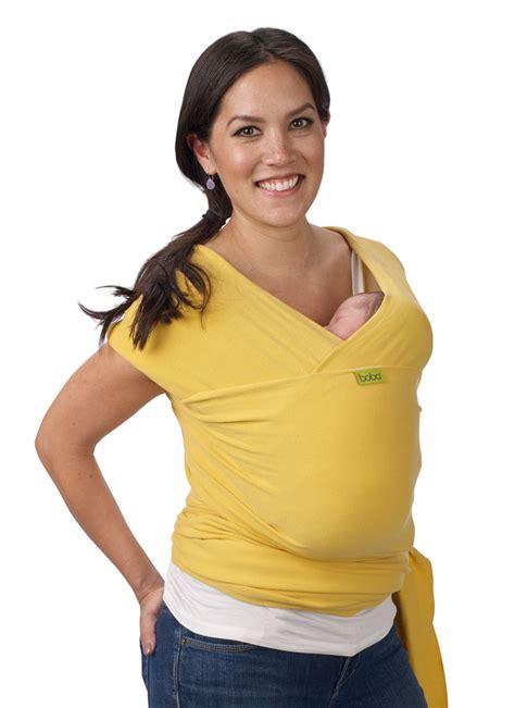 boba wrap yellow 201 charpe de portage en coton bio arche de neo