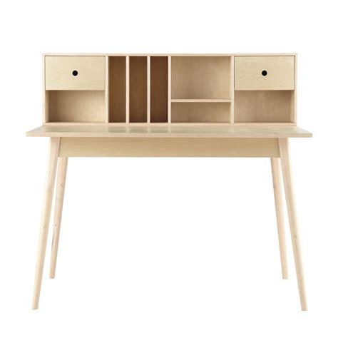 bureau 120 cm houten vintage bureau b 120 cm dekale maisons du monde