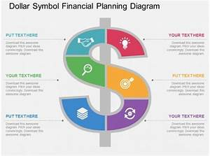 One Dollar Symbol Financial Planning Diagram Flat