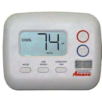 heating and cooling non programmable thermostats thermostats the home depot