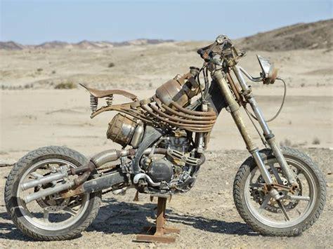 mad max  sus motos  la revista de motos