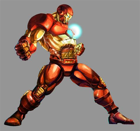 Marvel Vs Capcom 2 Iron Man By Udoncrew On Deviantart