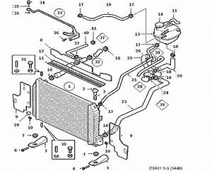 2004 Saab 9-3 Radiator  Expansion