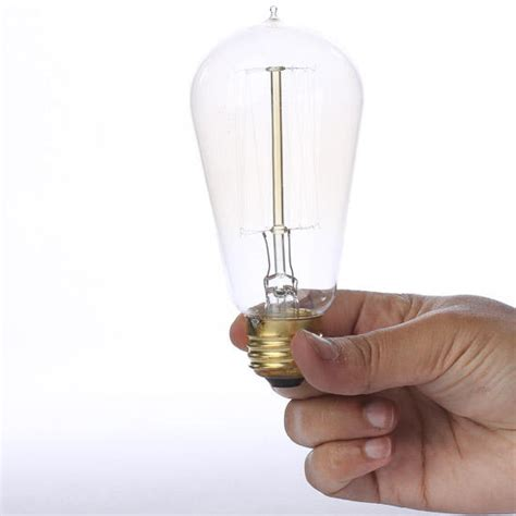 75 watt vintage light bulbs 4 75 quot vintage 40 watt edison style light bulb lighting