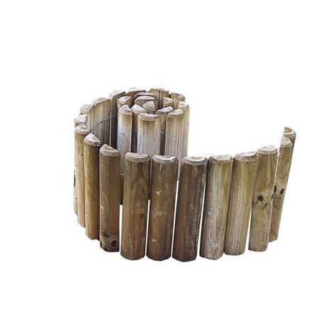 bordures de jardin en bois bordure de jardin bois pas cher achat vente en ligne
