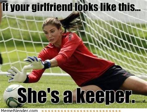 Hope Solo Memes - 31 best soccer memes images on pinterest