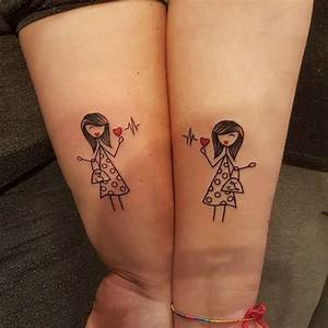 Tattoo Amitié : tatouage meilleure amie coeur ~ Melissatoandfro.com Idées de Décoration