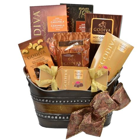godiva chocolate gift baskets christmas holidays