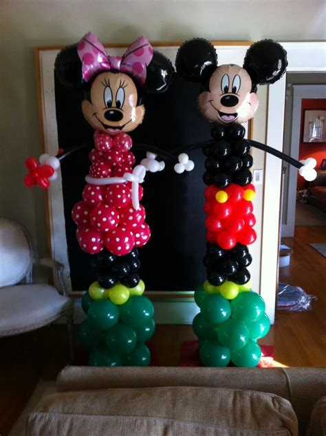 Mickey And Minnie Balloon Decorations - balloon decor of central california themes