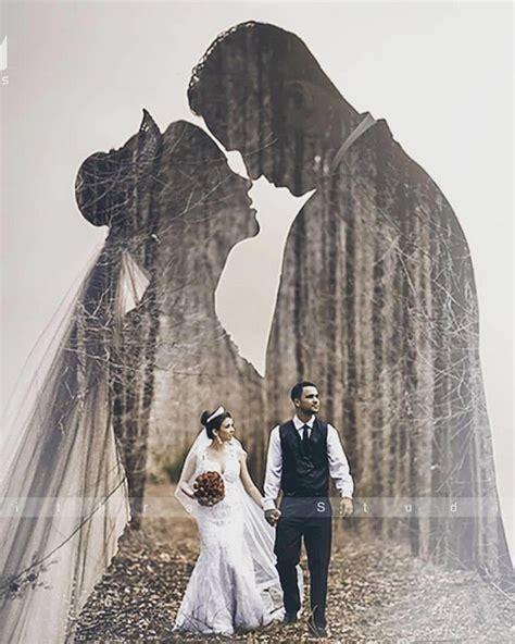 double exposure wedding photography ideas deer pearl