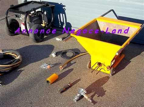 machine 224 projeter enduit pl 226 tre wagner compresseur negoce land