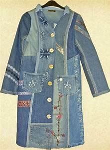 Nähen Aus Alten Jeans : die besten 10 ideen zu jeansmantel auf pinterest denim farbe shabby shop und hippie paar ~ Frokenaadalensverden.com Haus und Dekorationen