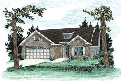 house plan    bedroom  sq ft country ranch home tpc bellglade