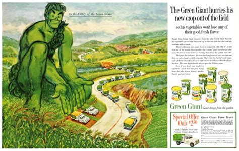 Green Giant's connection to the Kingsmen | A Taste of ...