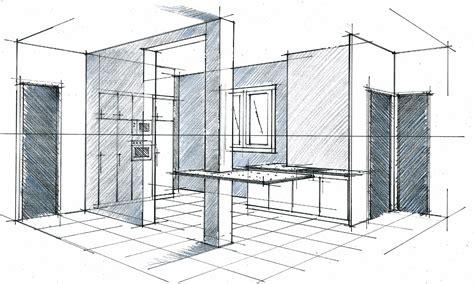 cuisine architecte perspective d 39 une cuisine ouverte philippe ponceblanc