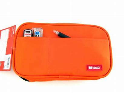 Lihit Orange Pencil Case Lab Teffa Jstationery