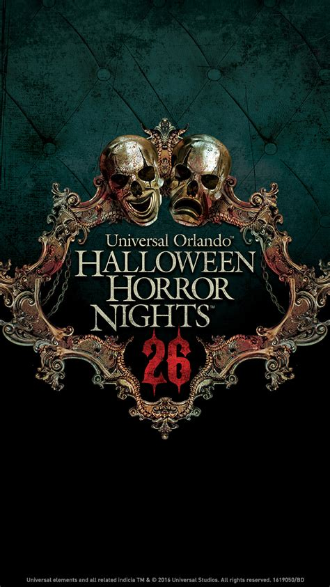 Horror Nights Wallpaper by Universal Orlando Up Exclusive