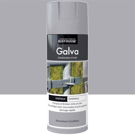 peinture a 233 rosol galva mat rustoleum aluminium scintillant 0 4 l leroy merlin