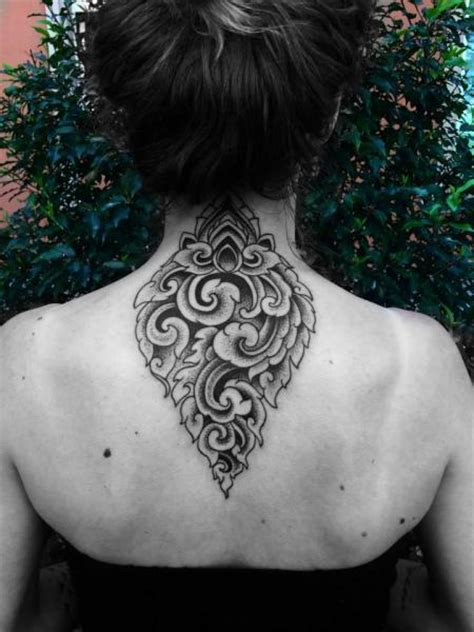 neck geometric tattoo  corey divine