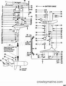 Complete Trolling Motor Model Gwf67v   24 Volt