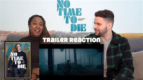 No Time To Die - Trailer 2 Reaction - YouTube