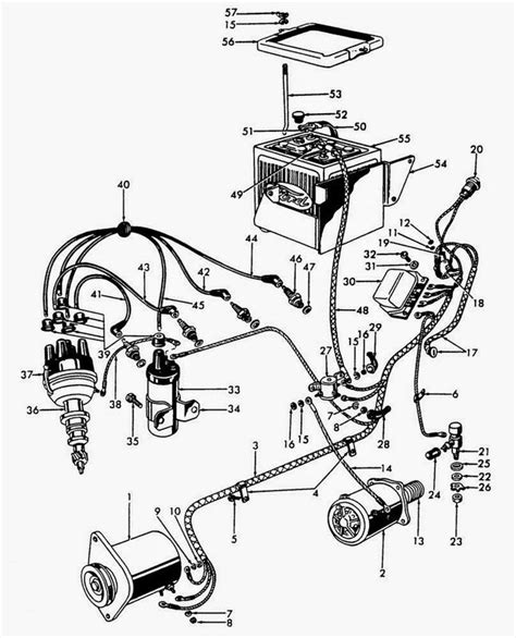 Ford Generator Wiring Diagram by Ford 8n Generator Diagram Tractor Wiring 12 Volt In